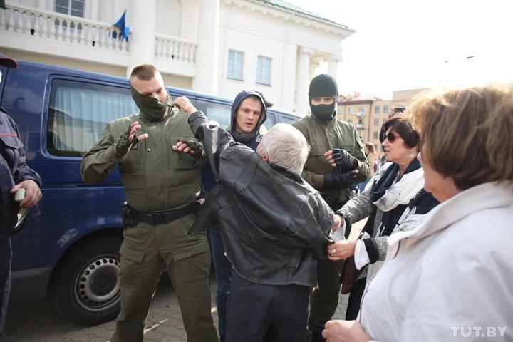`Женский марш` в Минске